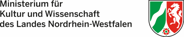 Logo des Ministeriums für Kultur und Wissenschaft des Landes Nordrhein-Westfalen